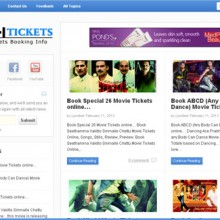 Online Tickets Booking Information